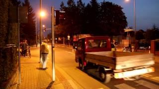Zderzenie trzech samochodów w Krośnie