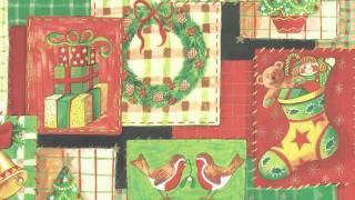 Jolee Tablecloths: Red Christmas Snowmen Checked PVC Vinyl Tablecloth