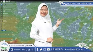 Info Prakiraan Cuaca Selasa 19 Oktober 2021, BMKG Sebut Ada 7 Kota Berpotensi Hujan Lebat dan Petir