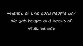 Good People Lyrics - Jack Johnson
