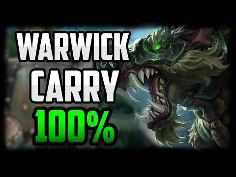 Warwick Jungle HYPER CARRY Guide - Warwick Commentary Guide Season 10 - League of Legends