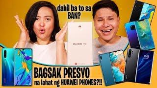 BAGSAK PRESYO HUAWEI PHONES!!! - Dahil ba to sa Huawei BAN!