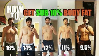 WHAT 10% BODY FAT LOOKS LIKE AS A NATURAL | HOW TO LOSE BODY FAT & GETTING BEACH BODY READY