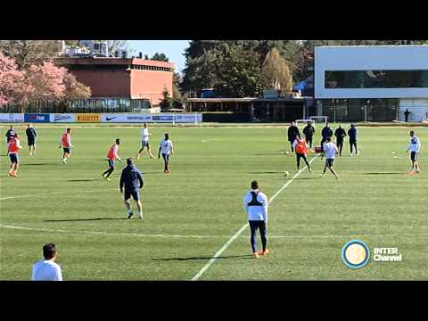 ALLENAMENTO INTER REAL AUDIO 01 04 15