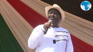 Raila: Referendum is unstoppable- VIDEOS
