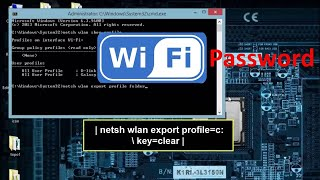 How to show all WIFI Password on your PC