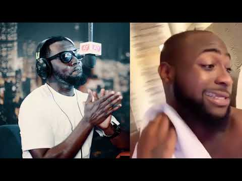 Characteristics of Davido on the The Ay show