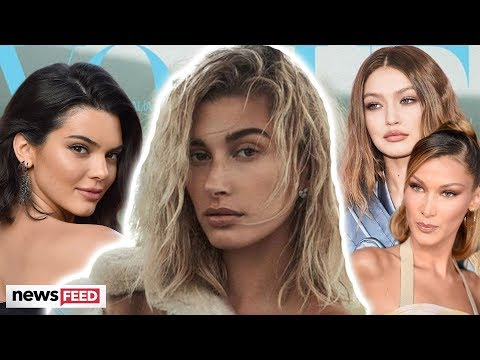 """Hailey Bieber REVEALS She Felt """"Less Than"""" BFFs Kendall Jenner & Hadid Sisters In Modeling Industry"""