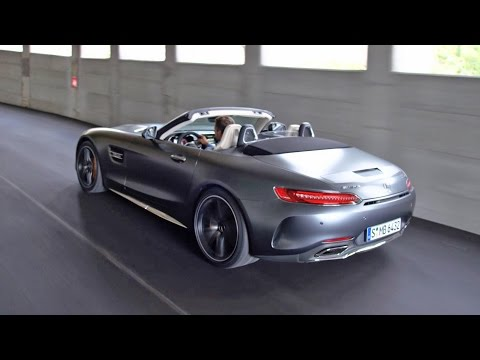 Mercedes Benz AMG GT Roadster Кабриолет класса A - рекламное видео 4