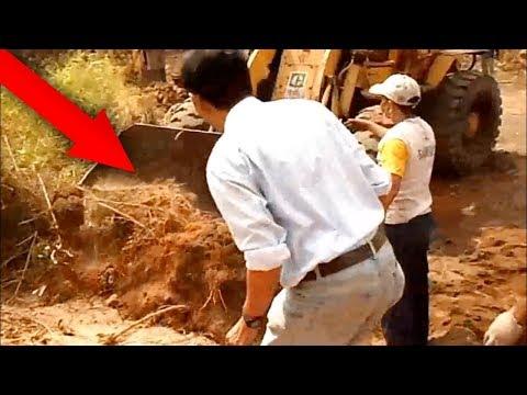 Sedang Gali Tanah, Para Pekerja Kaget!! Tiba-tiba Muncul Sosok Makhluk Buas ini!!