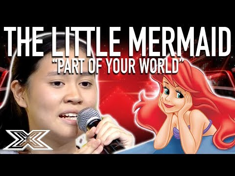 INCREDIBLE Little Mermaid Cover! | Part of Your World | X Factor Global