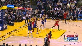 3rd Quarter, One Box Video: Golden State Warriors vs. Atlanta Hawks