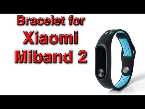 Bracelet for Xiaomi Miband 2 AZUL / Drill Set from Banggood