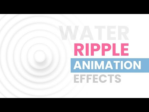 Simple jQuery Plugin to Create Water Ripple Effects - Water