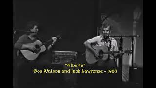 Doc Watson and Jack Lawrence -  Alberta - 1988