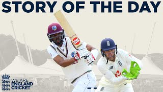 Go to ecb.co.uk to see the full highlights of the day.  Watch the best moments from Day 5 of the 1st Test between England and West Indies at the Ageas Bowl.  Find out more at ecb.co.uk  This is the official channel of the ECB. Watch all the latest videos from the England Cricket Team and England and Wales Cricket Board. Including highlights, interviews, features getting you closer to the England team and county players.  Subscribe for more: http://www.youtube.com/subscription_center?add_user=ecbcricket  Featuring video from the England cricket team, Vitality Blast, Specsavers County Championship, Royal London One-Day Cup and more.