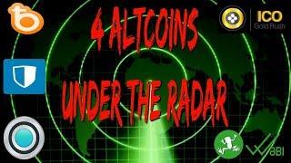 4 Altcoins Under The Radar | Wabi | Privatix | Clearpoll | Bread | ICO Gold Rush