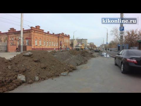 Работы по прокладке Куйбышевского коллектора
