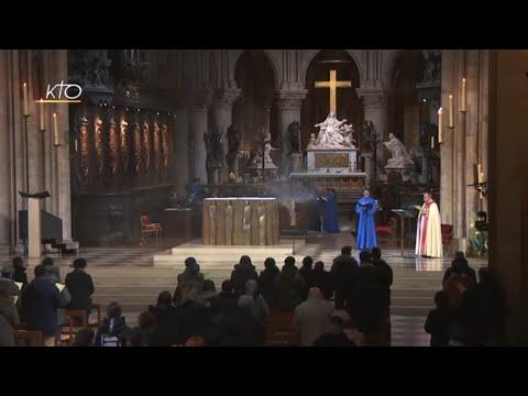 Vêpres à Notre-Dame de Paris du 17 janvier 2019