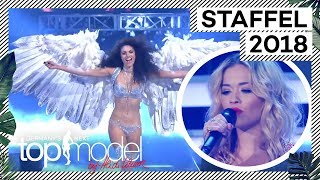 Der Flügelwalk Der Finalistinnen Mit Rita Ora | Das Finale | GNTM 2018 | ProSieben