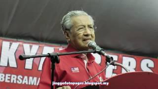20170204 Ucapan Dr M @ Kuala Sg Baru Melaka