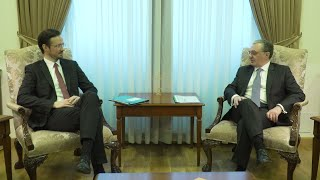 Zohrab Mnatsakanyan met with the member of Bundestag of the Federal Republic of Germany