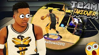 Playmaking Shot Creator + Team TakeOver = They Quit - NBA 2K19