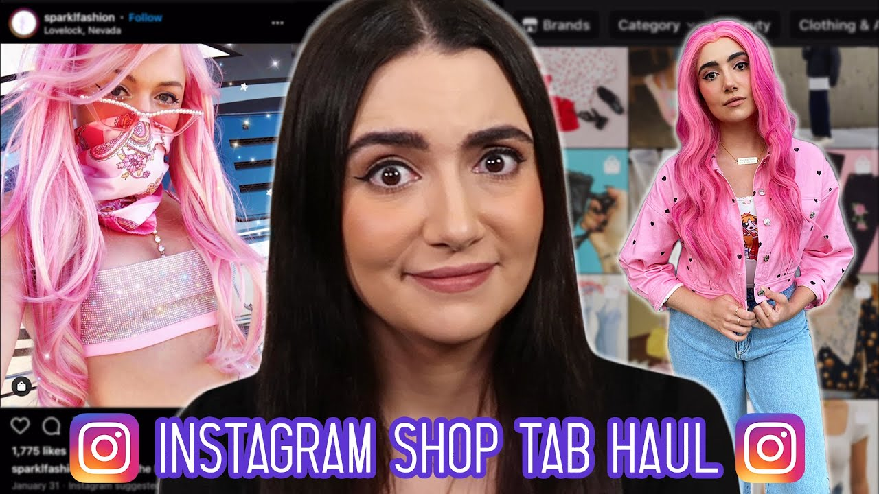 I Let The Instagram Shop Tab Pick My Outfits thumbnail