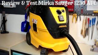 Review & Test Mirka Industriesauger 1230 L AFC - Die beste Absauganlage die es gibt???