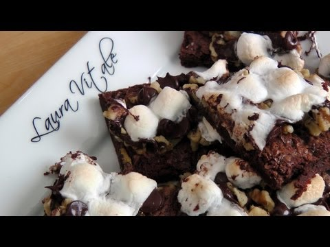 Rocky Road Brownie Bars – Recipe by Laura Vitale – Laura in the Kitchen Episode 183