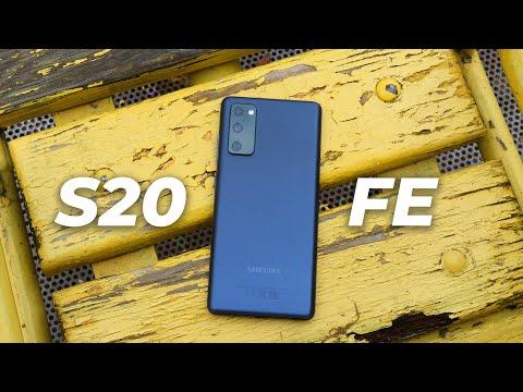 Смартфон Samsung Galaxy S20 FE SM-G780F лаванда 128GB
