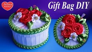 Подарочная Шкатулка с Розами. Мастер класс / Gift Box. DIY