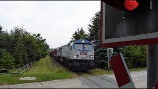 preview picture of video 'OHE von oben und Blue Tiger in Doppeltraktion'