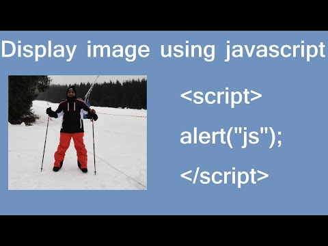 display image using js in HTML