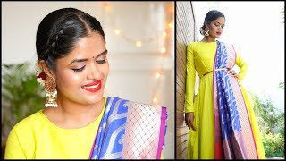 DIWALI MAKEUP LOOK & OUTFIT IDEA || 2018|| #100dayswithsowbii DAY47