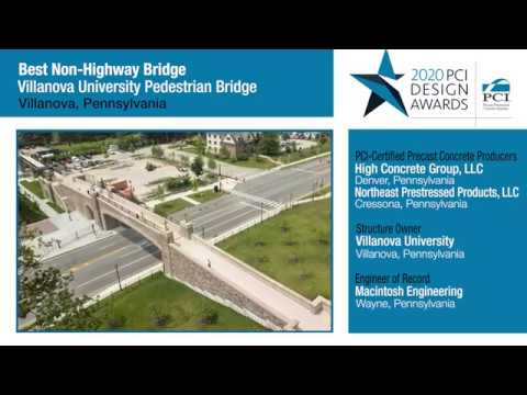 PCI Design Award Villanova Bridge
