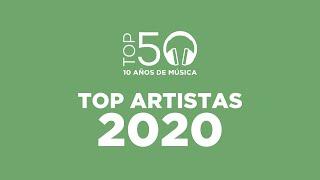 Top 50   Top Artistas 2020