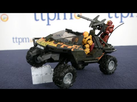 Halo Unsc Flame Warthog From Mega Bloks