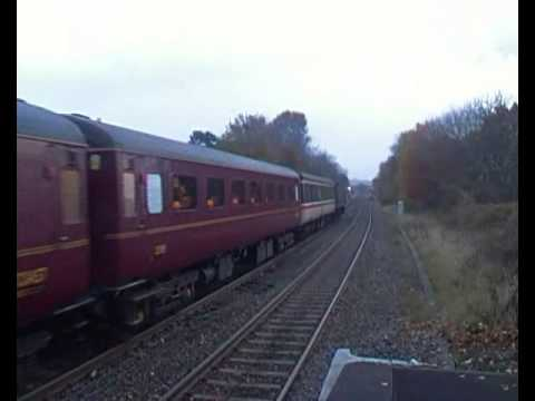 West Coast Railways 47500 & 47804 at Rugeley Town 16th Novem…