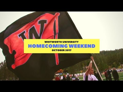 Whitworth University   Homecoming Weekend   October 2017