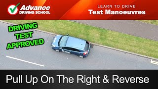 Pull Up On The Right & Reverse Manoeuvre  |  2019 UK Driving Test