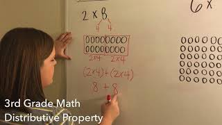 3rd Grade Math - Distributive Property