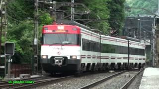 TRAINSPOTTING (VOL. 233). Trenes renfe. Música: Gravy Train (Mark Knopfler).