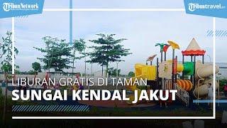 Wisata Sore di Taman Sungai Kendal, Tempat Wisata Baru dan Gratis di Jakarta