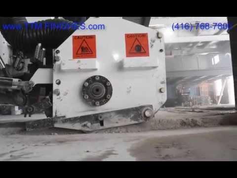 Concrete Scarifying by TTM Finishes Inc.