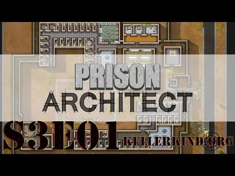 Prison Architect [HD] #028 – Der Neustart ★ Let's Play Prison Architect