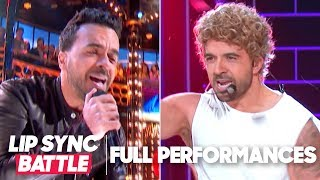 """Luis Fonsi Performs """"tubthumping"""" & """"it's Gonna Be Me""""  Lip Sync Battle"""
