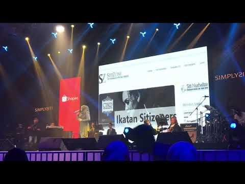 Ku Menunggu By Dato Siti Nurhaliza di Konsert Shopee X Simplysiti on 14/9/19
