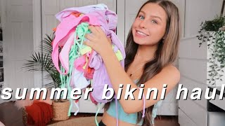 HUGE TRY ON SHEIN SUMMER BIKINI HAUL