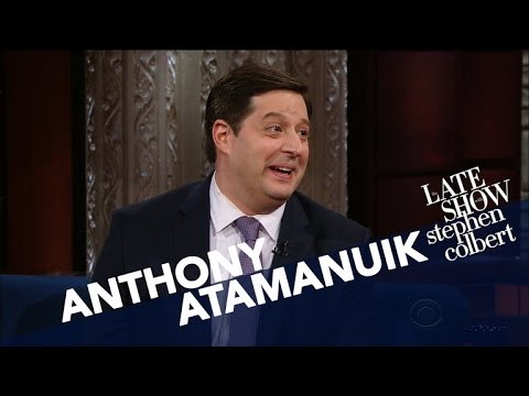 Anthony Atamanuik's Secret To Impersonating Trump? Be A Shih Tzu